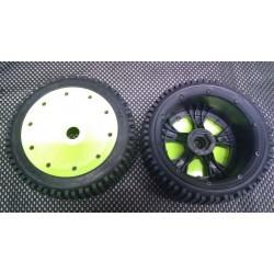 Jantes et pneus micro losi 5T et 5B