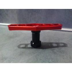 Clé de roue aluminium 17 mm pour 1/8