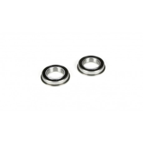 Diff Support Bearings, 15x24x5mm, Flanged (2): 5IVE-T, MINI WRC