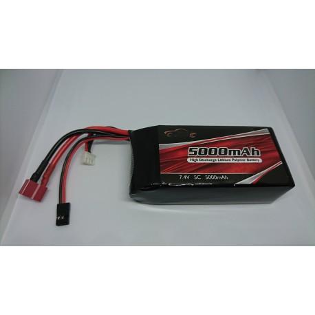 Batterie 5000 mah 7.4v lipo
