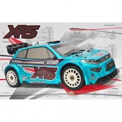 MCD XR5 Rally Factory Team 4 options alu (sans moteur ni servos)