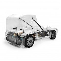 Hobao Hyper EPX Semi Truck On-Road ARR caisse claire
