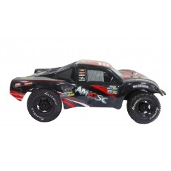 AM10SC V2 ROUGE COURS COURT CAMION 4WD 1:10 BRUSHLESS