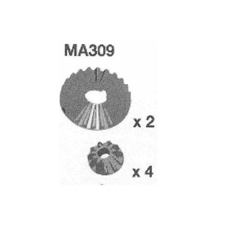MA309 DIFF. ENGRENAGES CONIQUES 24 ET 11 DENTS AM10SC