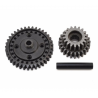 CENTER TRANSMISSION GEAR SET - SUPER BAJA REY - LOSI - LOS252080