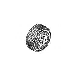 160 mm Micro Stud Tires Blue Soft + Rims White