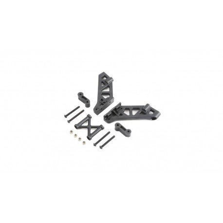Left and Right Wing Mount Brace and Spacer: 5B